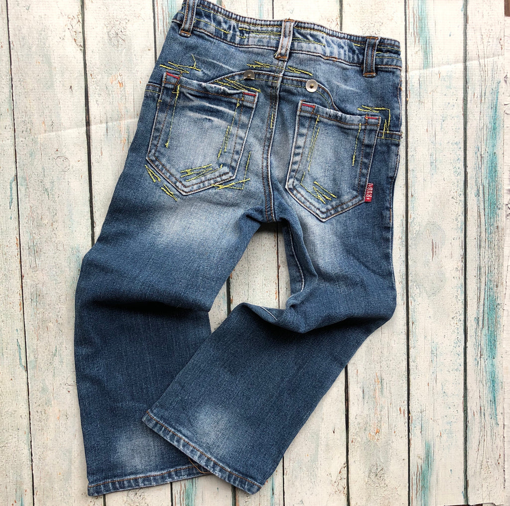 Rock your Baby distressed denim- Size 4