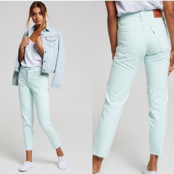 Levis Wedgie Fit Mint