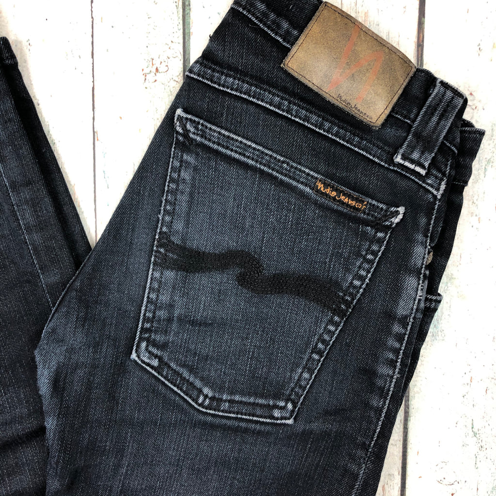 Nudie Jeans Co. 'Tight Long John'  Black Jeans- Size 24