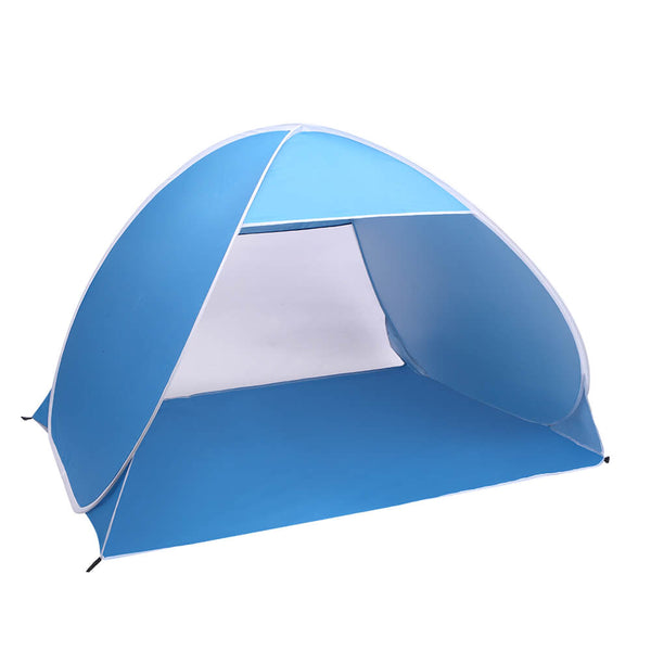 2 3 Person Beach Tent Pop Up Sun Shelter Tent Big Automatic Sun