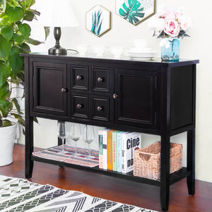 Console Table Buffet Table Sofa Table Sideboard with Four ...