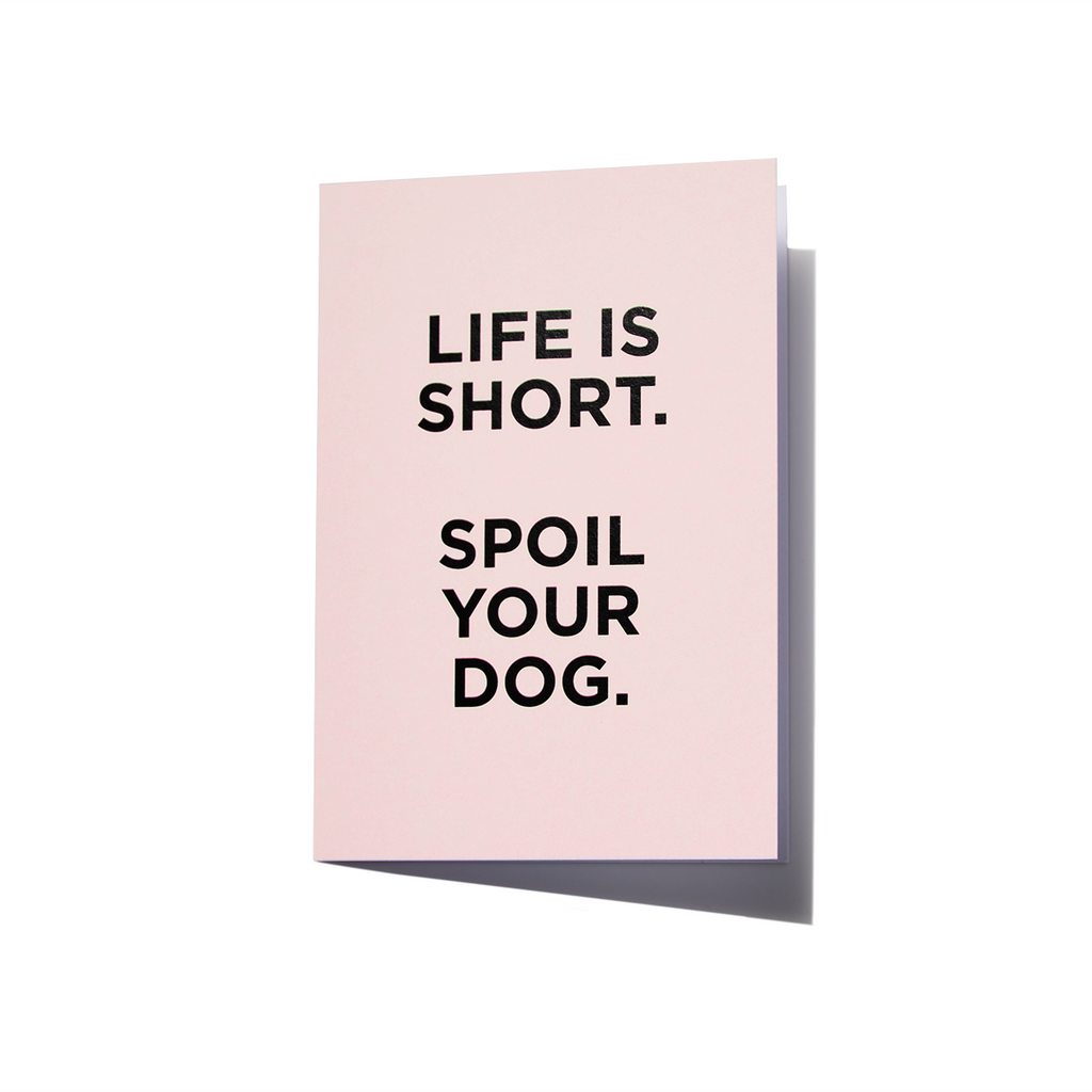 Greeting Card | Spoil Your Dog