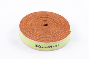 "7' Length, Chaff Barrel, Extreme-Temp Silicone Foam Gasket, 1/8"" T x 3/4"" W, A15, S7, S15, S35"