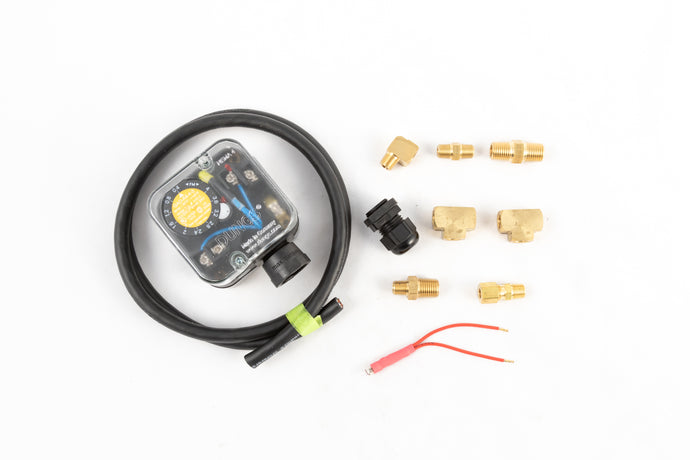 S35, Plumbing Kit to Upgrade from Dwyer Pressure Switch to Dungs