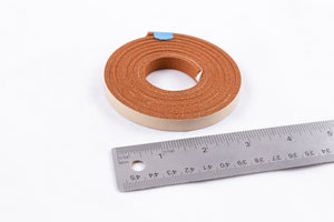 "S7, S15, High Temperature Foam Orange Adhesive Backed Gasket 3/8"" W, 5' pre-cut length"