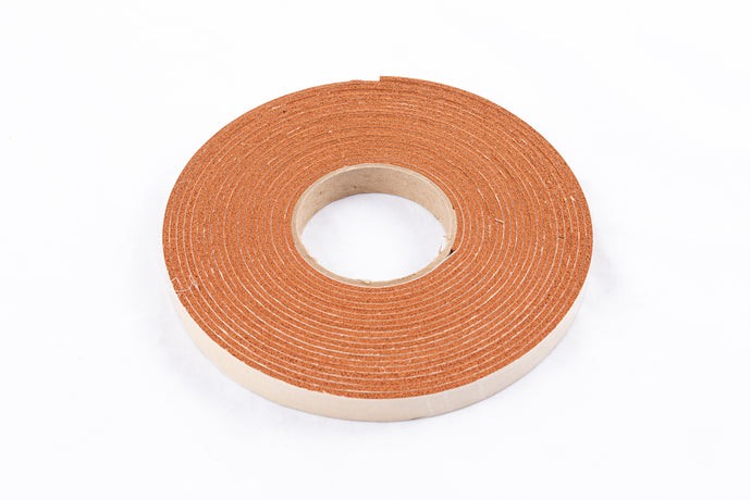 "30' x 3/4"" Roll Silicone Foam Gasket - Full Roll"