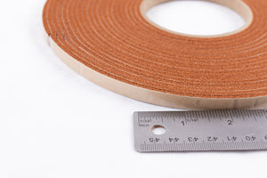 "S7, S15, High Temperature Foam Orange Adhesive Backed Gasket 3/8"" W – Full Roll"