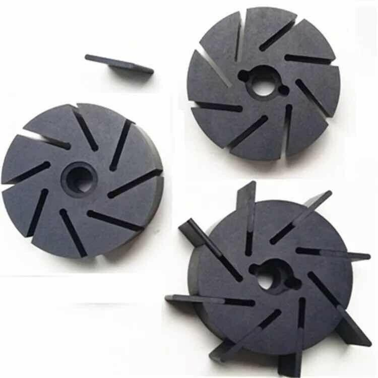 Carbon Vanes Fit Rietschle Pump Set of 4 Blades | 525977 / 525351 / 523889