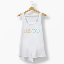 Womens Beach Disco Racerback Vest