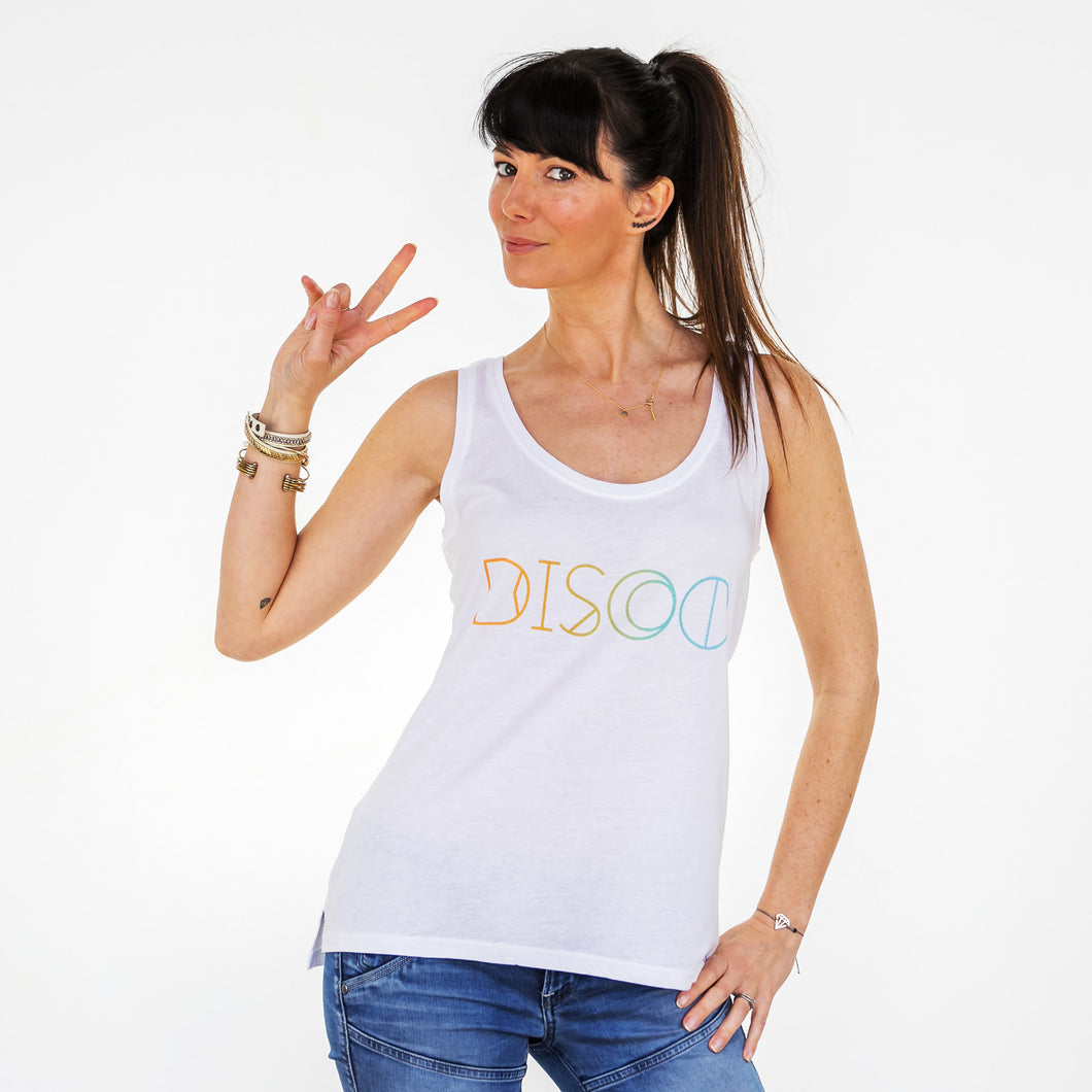 SR Womens Disco Vest Small 8-10