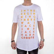Men's Orange In The Beginning... Longline T