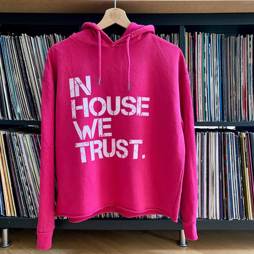 SR Womens Pink In House Hoody XS (6-10)