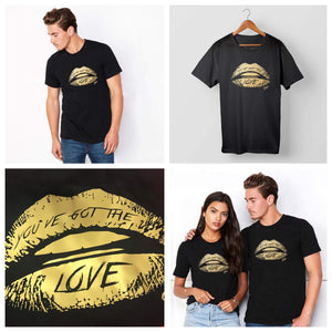 GOLD LIMITED EDITION! Shhh You've Got the Love T