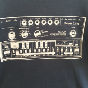 SR TB303 Tee - Denim Blue / Medium