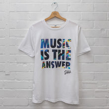 Shhh Music Is The Answer Tee