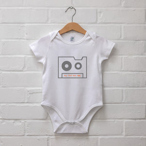 BABY: My First Mix Tape Babygrow