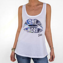 Womens Shhh Summer Vibes 'One More' Racerback