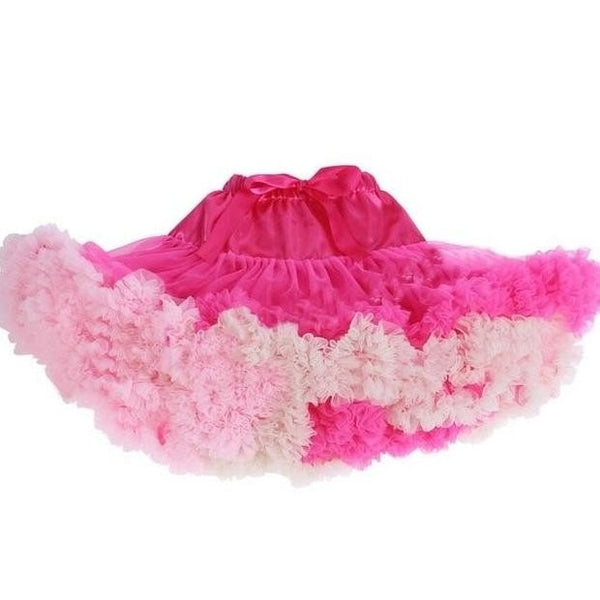 Baby & Toddler Chiffon Pettiskirt Pretty Pinks - Posh Kids Boutique Clothing