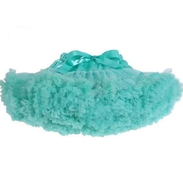 Baby & Toddler Chiffon Pettiskirt Aqua - Posh Kids Boutique Clothing