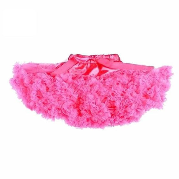 Baby & Toddler Chiffon Pettiskirt Fuchsia - Posh Kids Boutique Clothing
