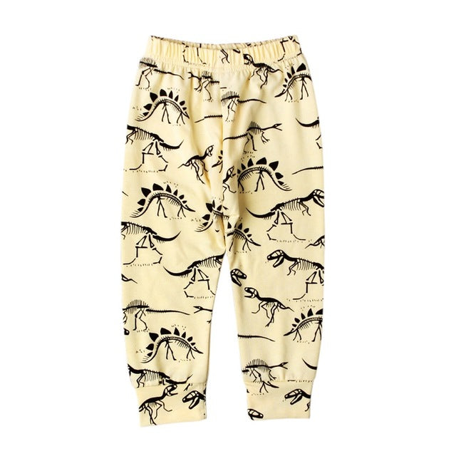 Casual Dinosaur Pants for Baby & Toddler - Posh Kids Boutique Clothing