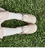 Joy Mary Jane Shoe (ALMOND) FREE SHIPPING!