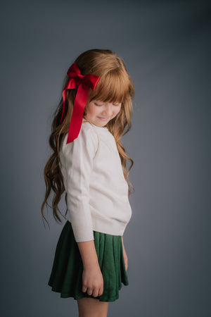 Satin Long Tail Bows