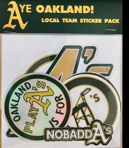 Oakland Local Team Sticker Pack