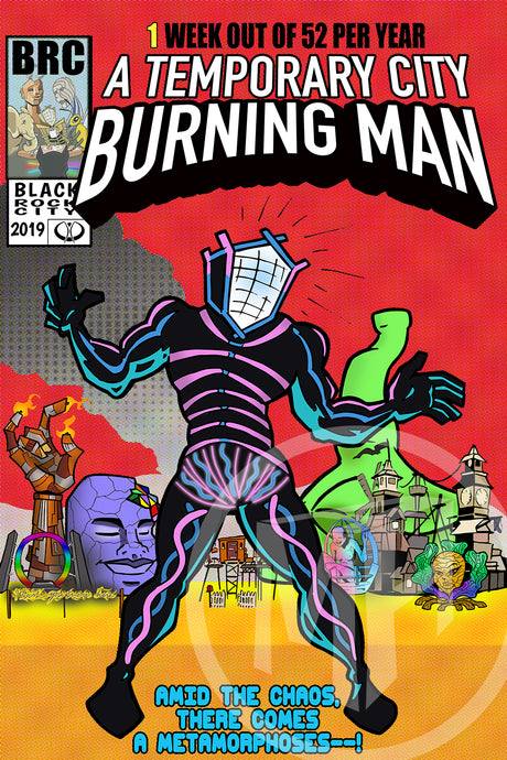 Burning Man, A Metamorphoses!