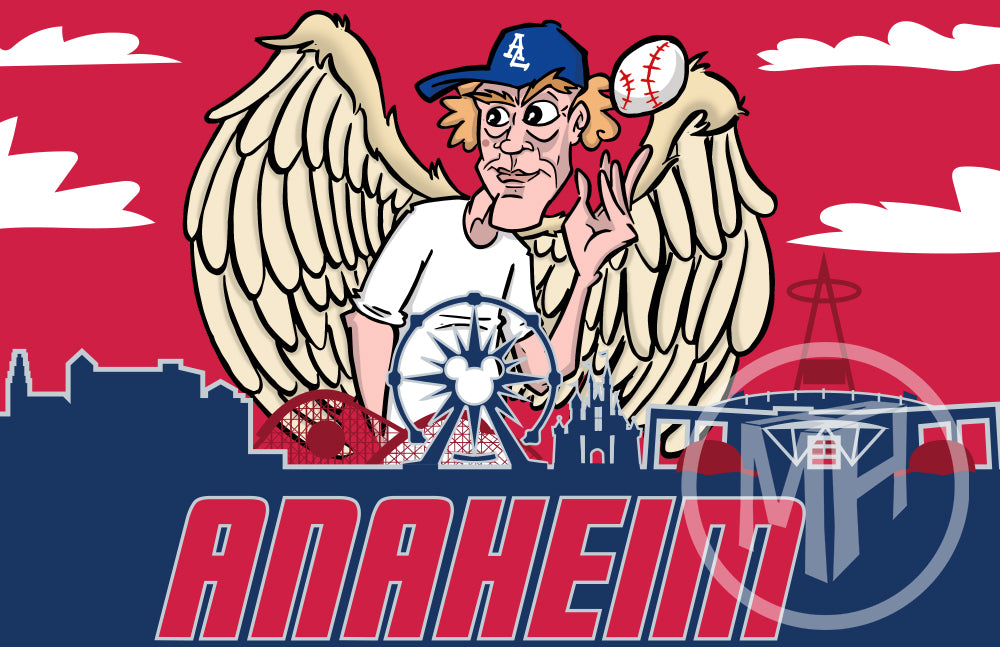 LA of Anaheim Baseball Tribute