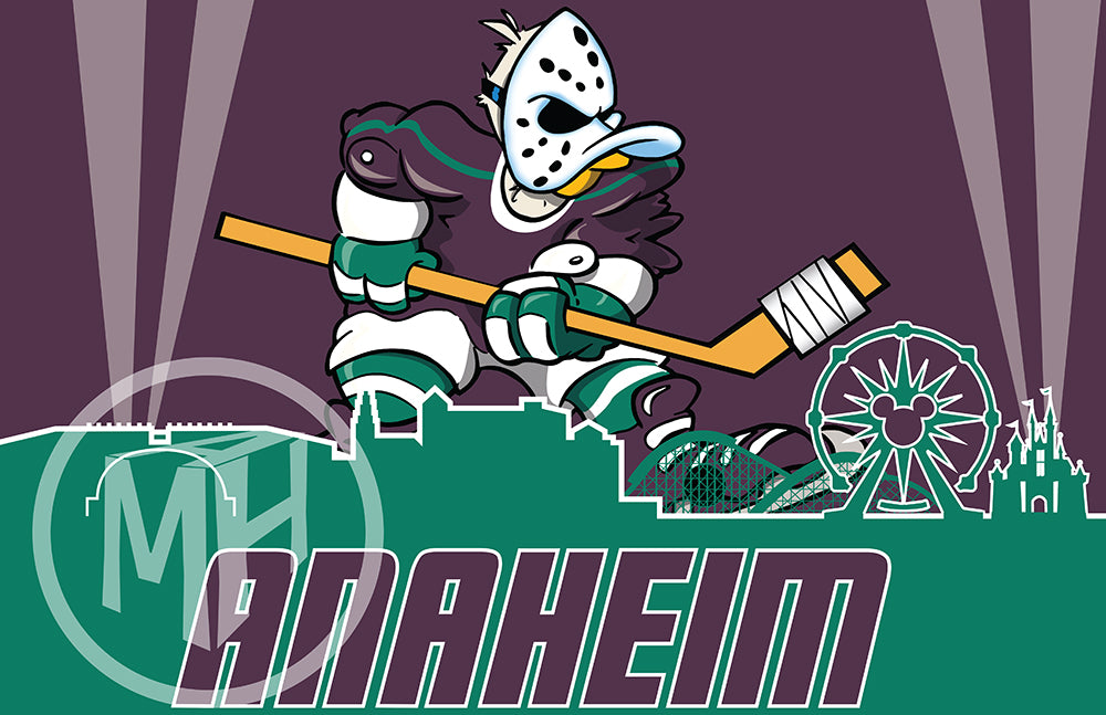 Vintage Anaheim Hockey Tribute