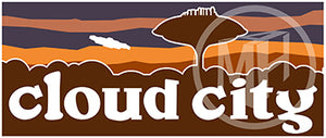 Cloud City Sticker