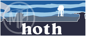 Hoth Sticker