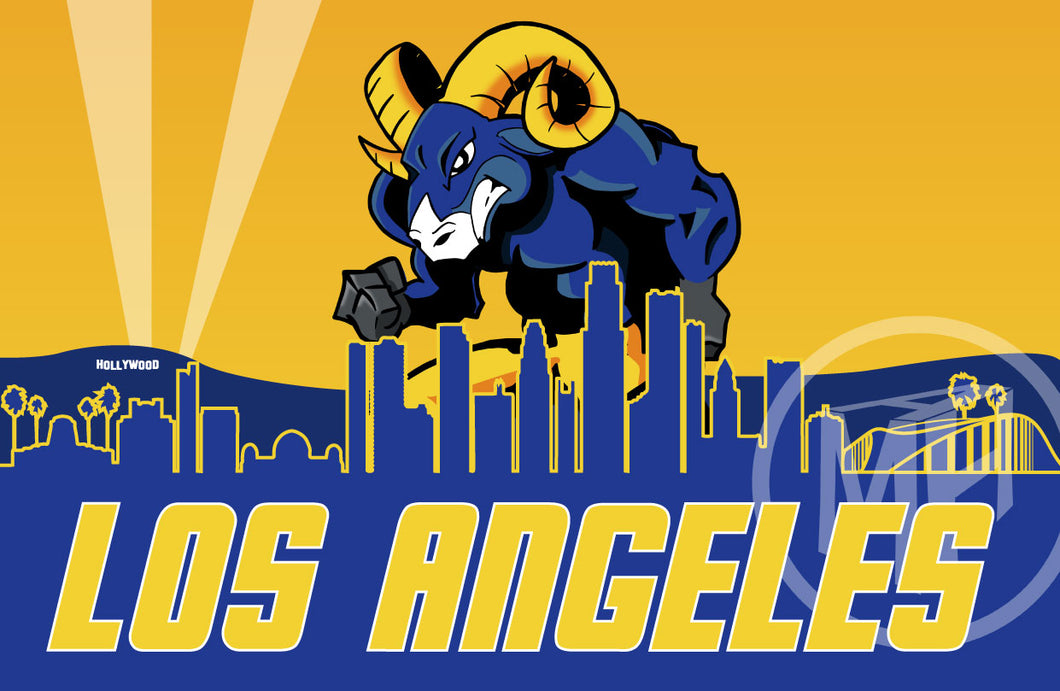 Los Angeles football team 1 Tribute