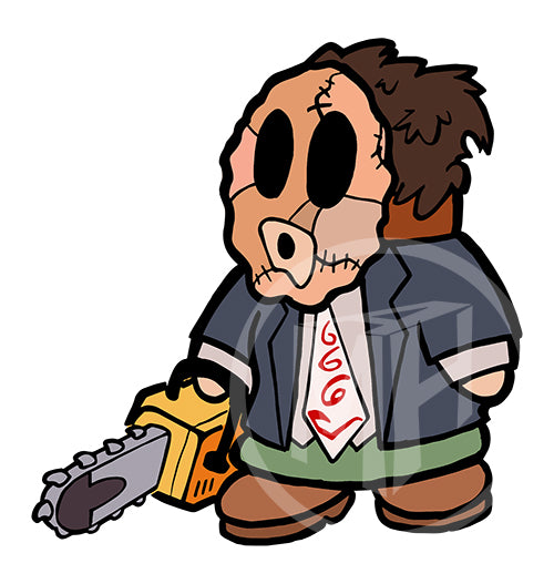 Leatherface is a Shy Guy