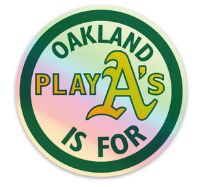 Oakland is for Playas