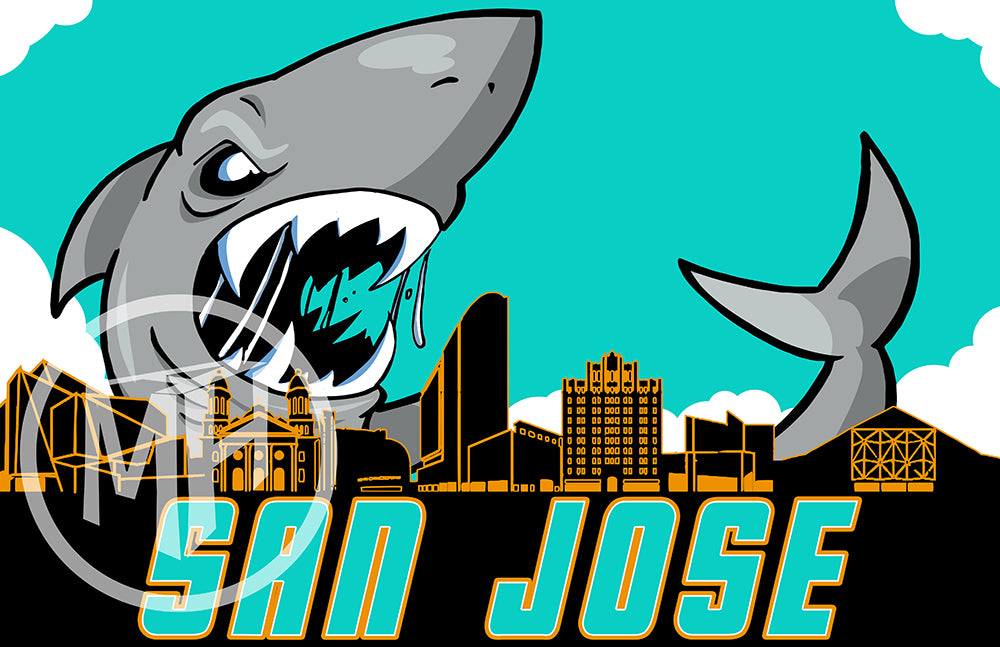 San Jose Hockey Tribute