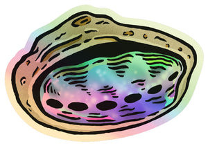 Abalone Shell Holographic Sticker
