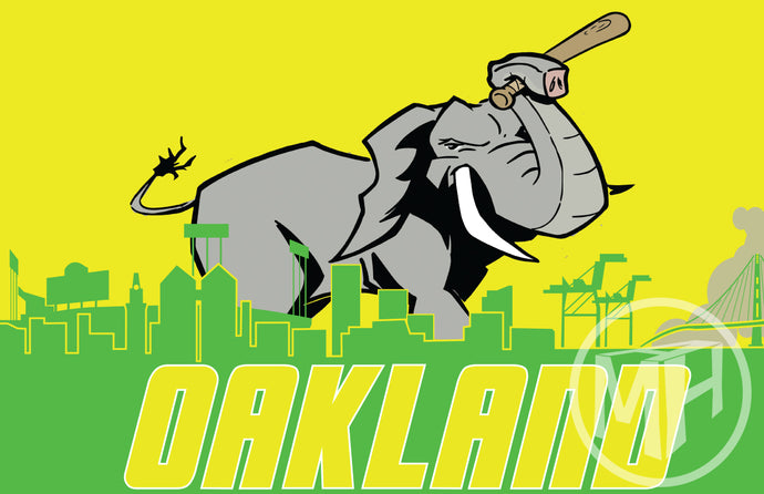 Oakland A's tribute