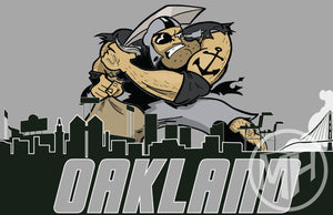 Oakland's soon-to-be former team (again) Tribute