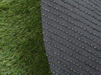 Artificial turf needs to be filled with accessories
