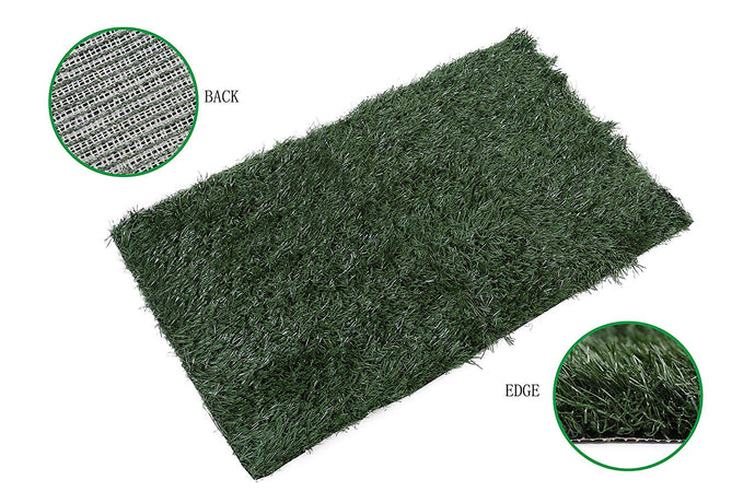 Artificial turf injection molding process