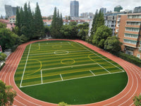Sports field leisure artificial turf maintenance