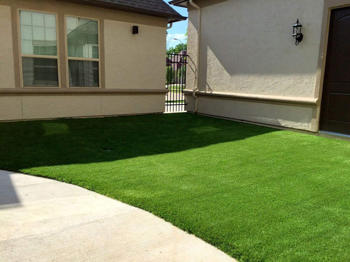 Drainage planning of artificial grass