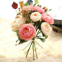 What are the flower arrangement methods for household artificial flowers