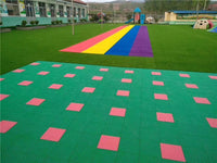 Kindergarten artificial turf advantage