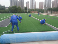 Artificial turf bonding process