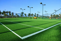 Artificial turf paving and maintenance