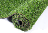 How to fill the artificial turf with quartz sand and rubber particles
