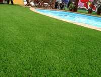 Artificial turf water waxing operating skills